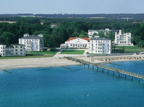 Grand Hotel Heiligendamm 5*, Хайлигендамм / Бад Доберан, отели Германии