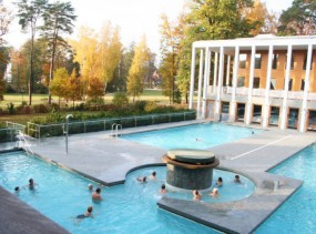 Термальный комплекс Saarow Therme. Бад Заров. Туры в Германию