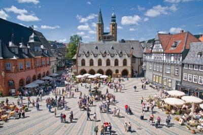 Рыночная площадь Гослара © Goslar Tourismus