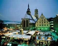 Рождественский базар в Штуттгарте