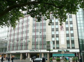 Leonardo Hotel Dusseldorf City Centre-Konigsallee (ex. Holiday Inn ) 4*, Дюссельдорф, отели Германии